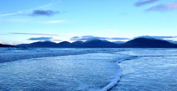 Luskentyre Beach in Winter